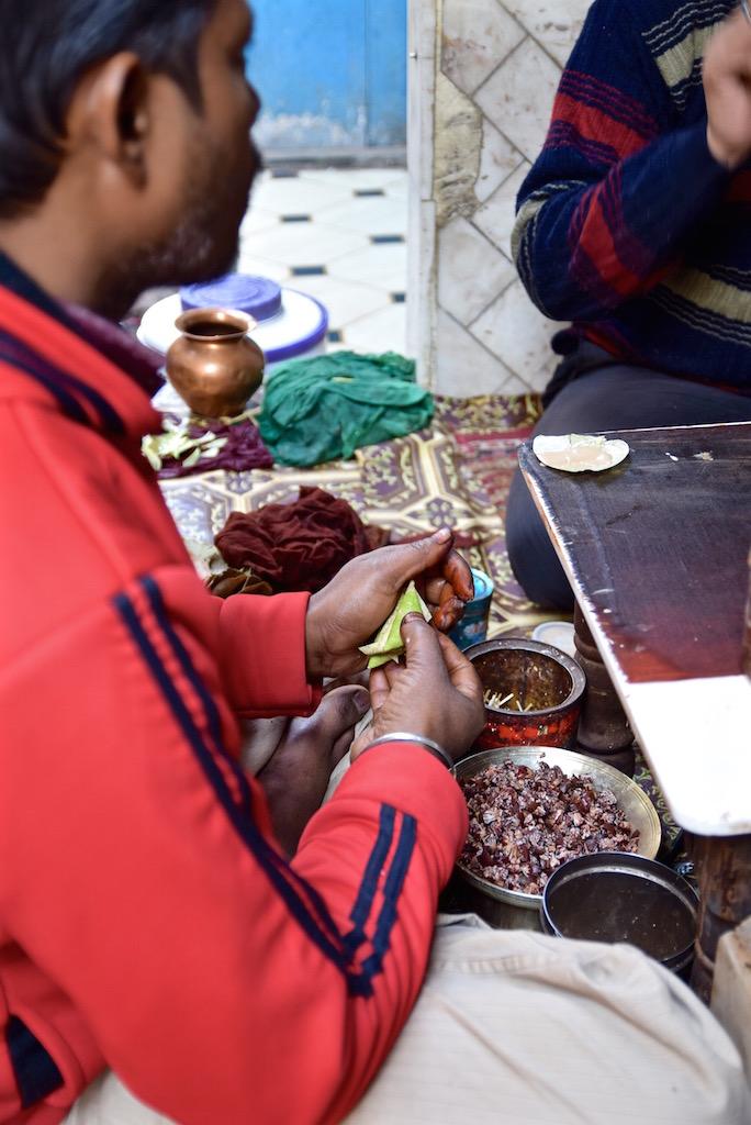 Delhi Market food