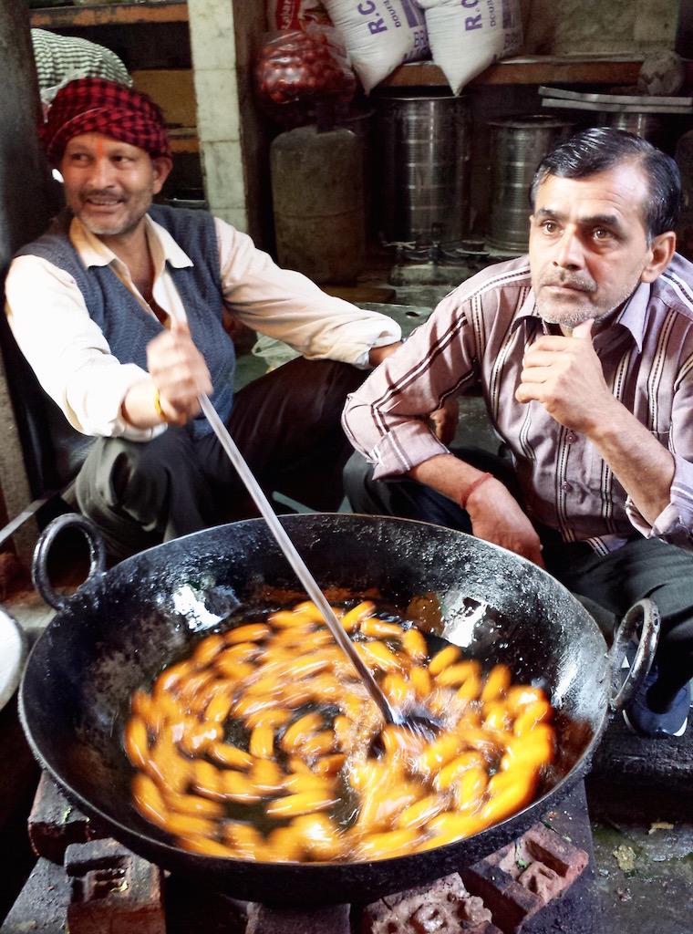 Delhi market India