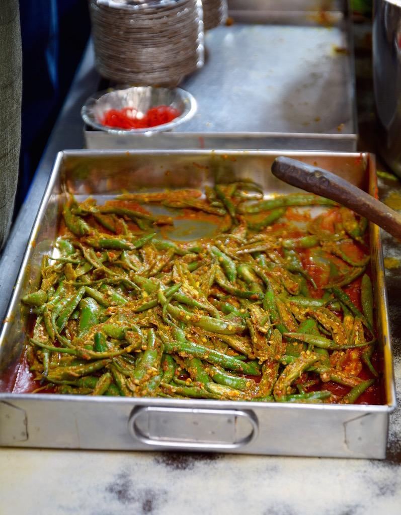 Delhi market beans