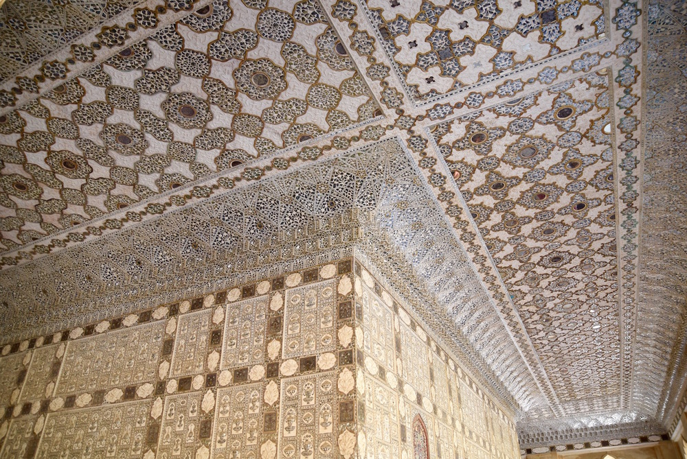 Amber Fort hall of mirrors