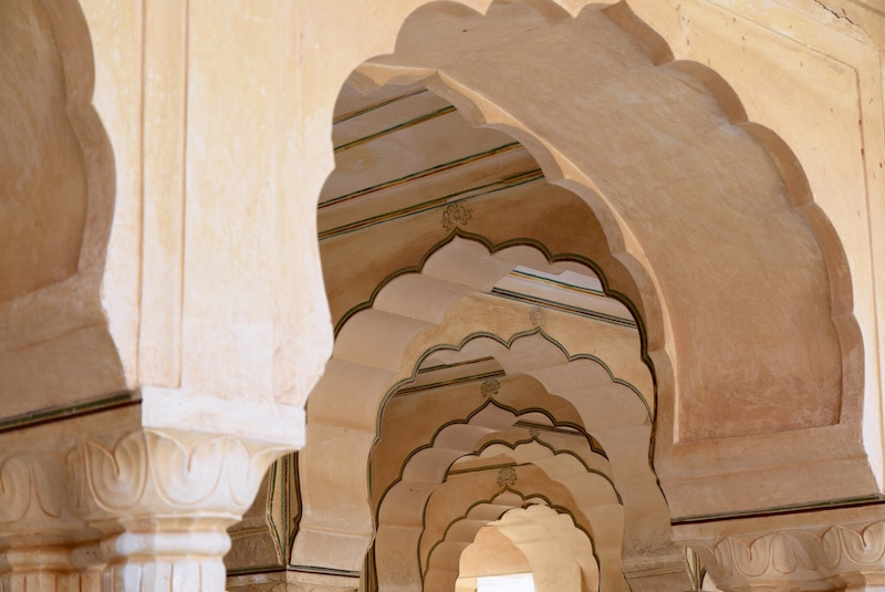 Amber Fort arches