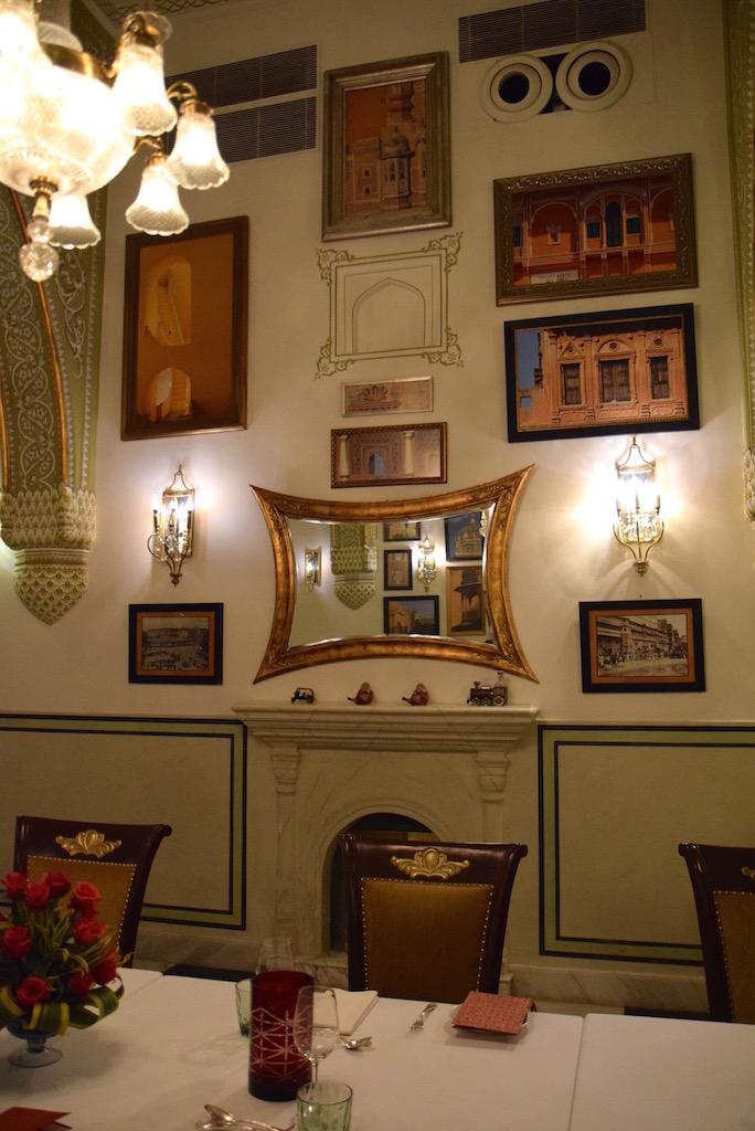 Samode Haveli Jaipur restaurant