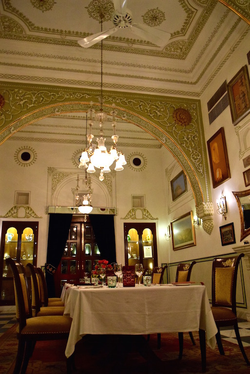 Samode Haveli dining