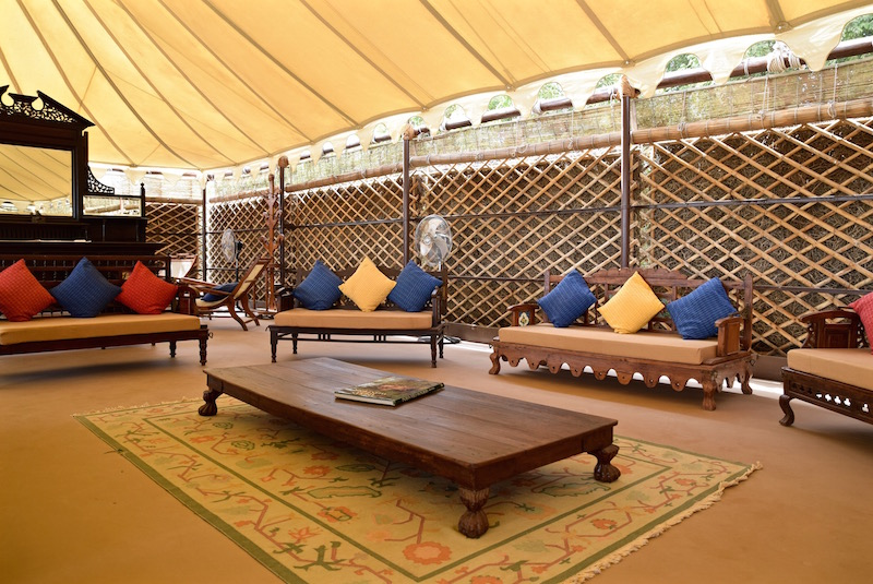 Chhatra Sagar India luxury tents