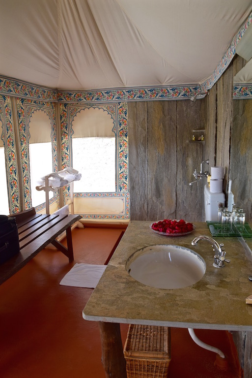 Chhatra Sagar India bathroom