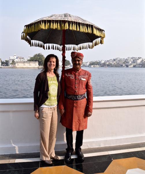 Tasting Page at Taj Lake Palace