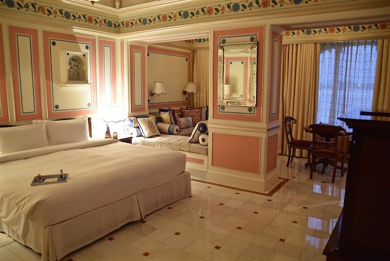 Taj Lake Palace Udaipur bedroom