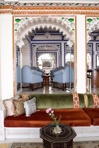 Taj Lake Palace Udaipur lobby