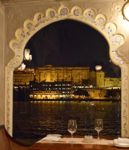 Taj Lake Palace Udaipur restaurant