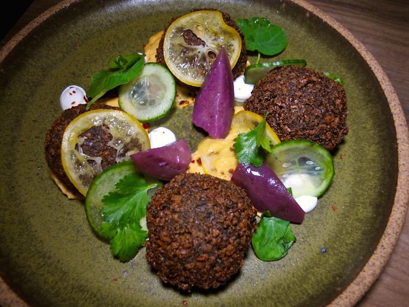 Otium's falafel