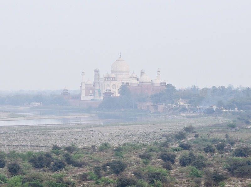 India Agra's Taj Mahal