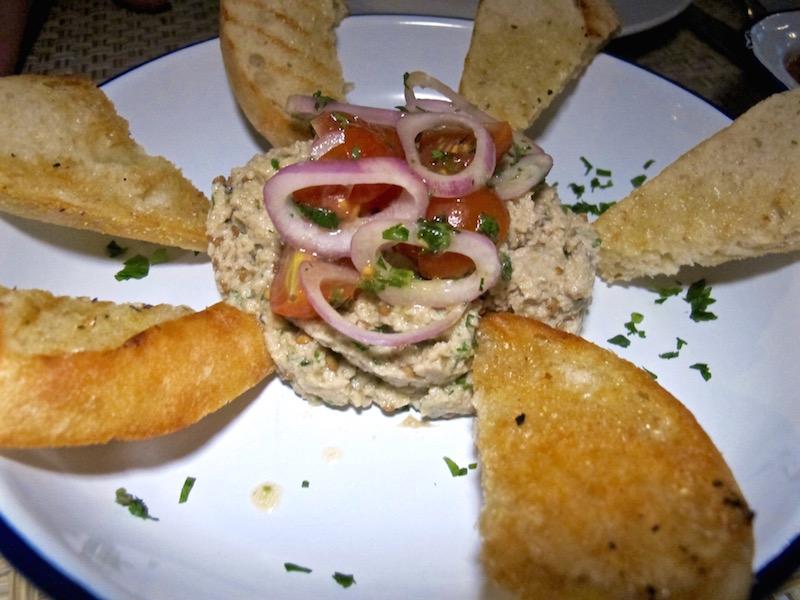 Inotheke eggplant tahini salad