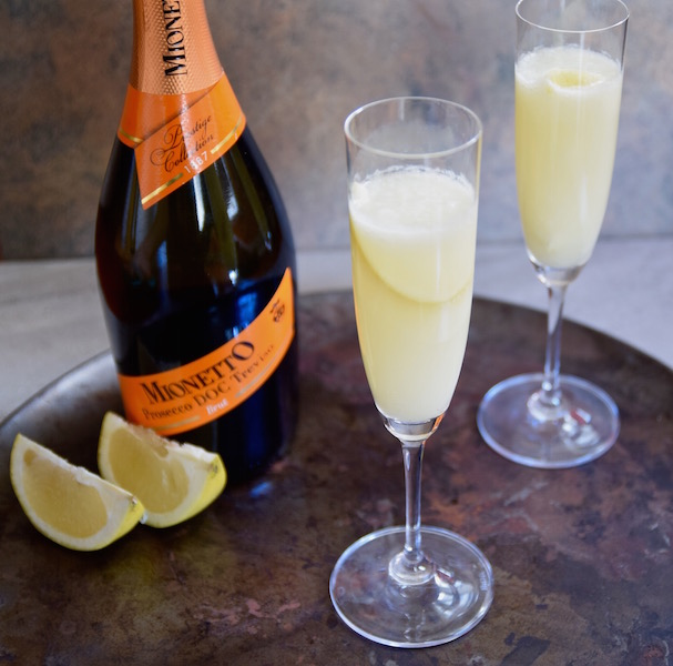 Lime Grapefruit Mimosa