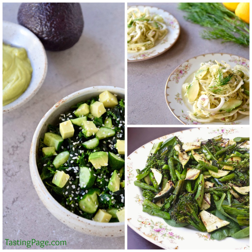 Healthy summer salads - vegan and gluten free | TastingPage.com