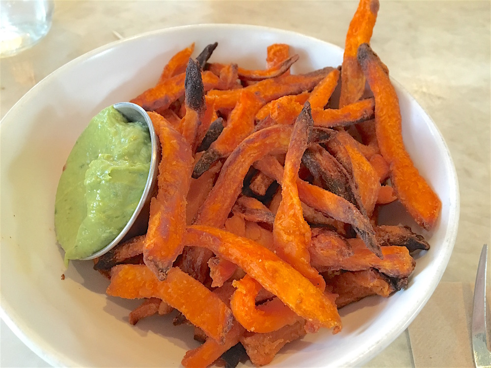 Greenleaf Chopshop sweet potato fries
