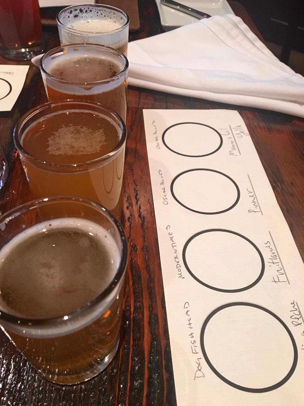 Trokay beer tasting