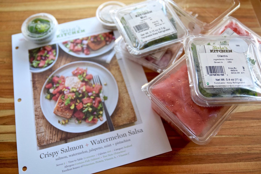 Terra's Kitchen healthy meal kit service