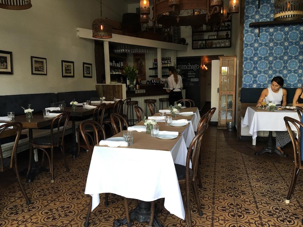 Manchego Main Street Santa Monica Restaurant