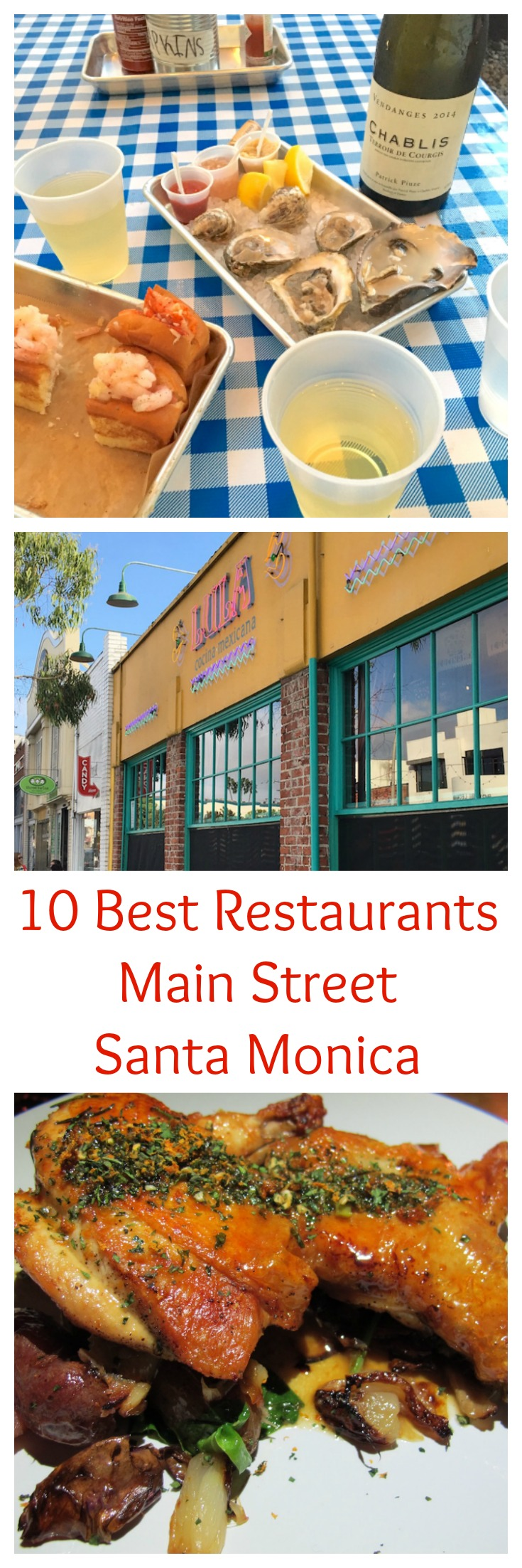 Best Main Street Santa Monica Restaurants | TastingPage.com