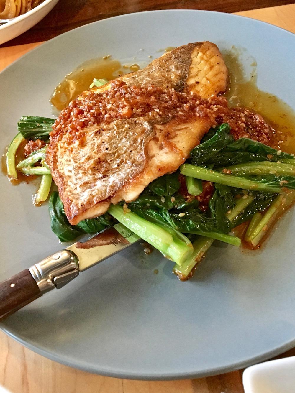 Status Kuo Mar Vista Restaurant fish