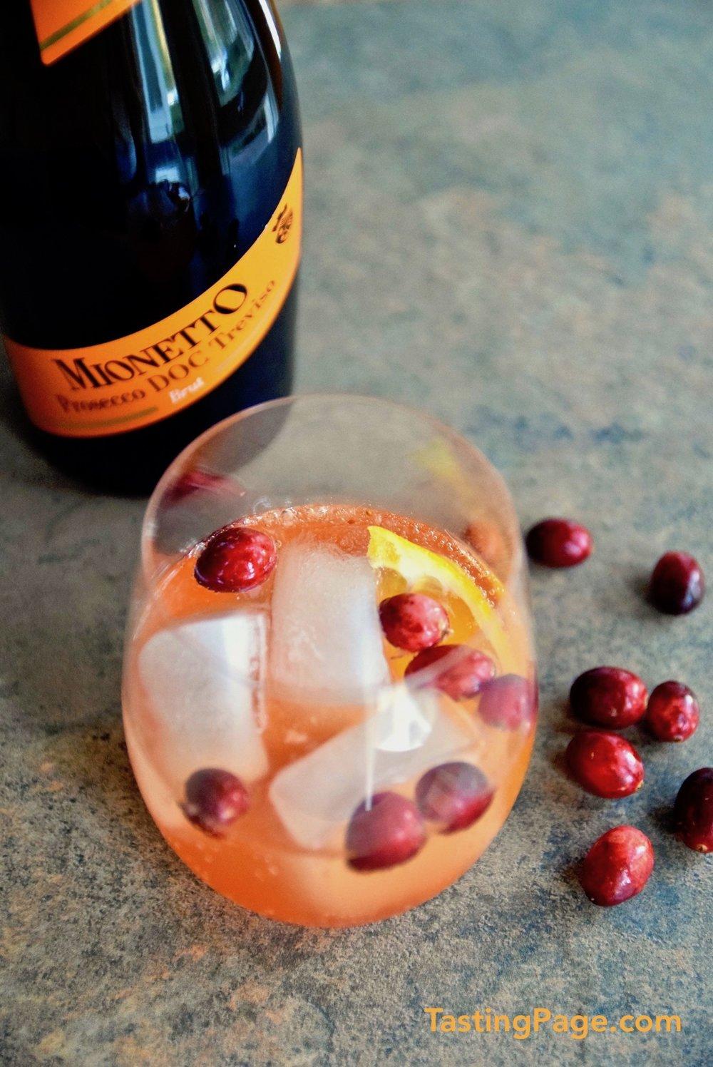 Cranberry Aperol Spritz