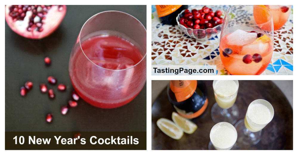 10 new year's cocktails | TastingPage.com