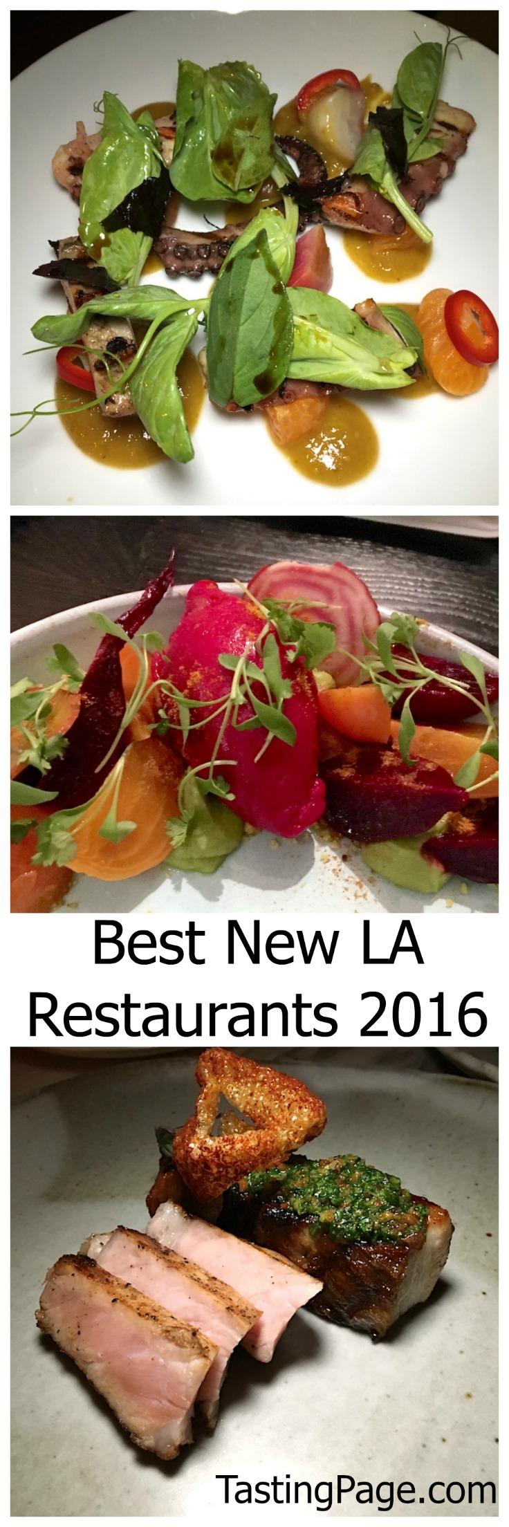 Best new Los Angeles restaurant for 2016 | TastingPage.com