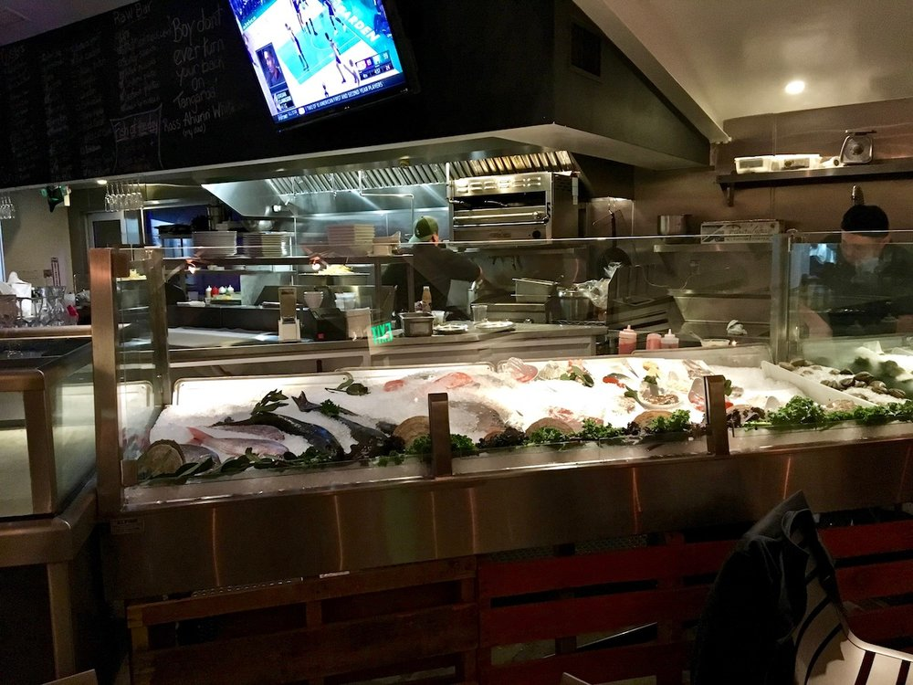 tangaroa fish market and bar tasting page