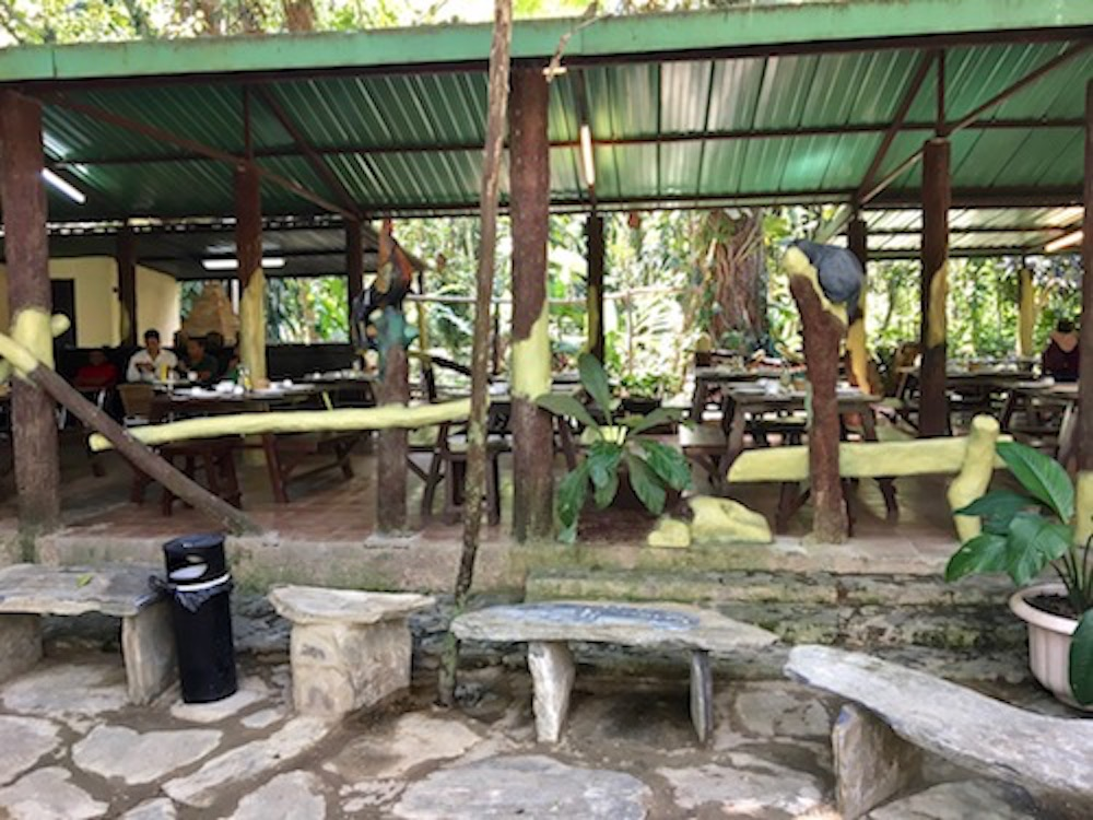 El Nicho Cuba waterfall restaurant