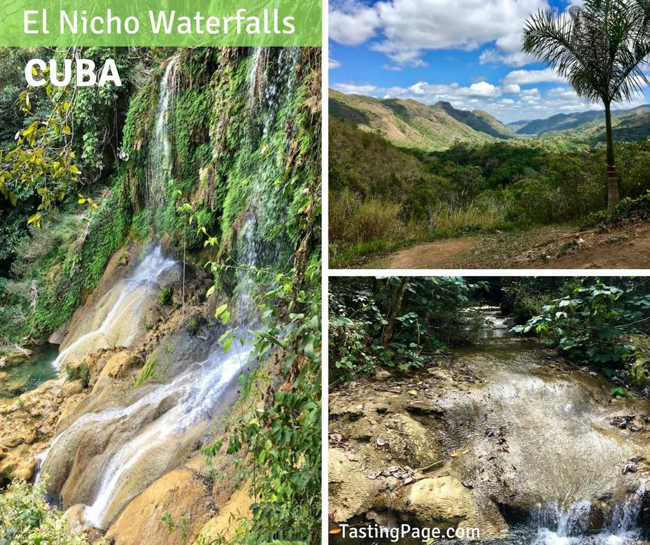 El Nicho Waterfalls Cuba | TastingPage.com
