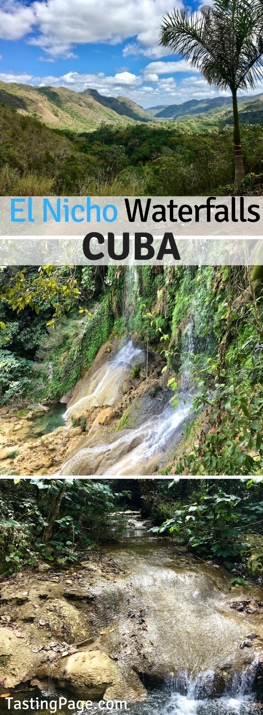 Visiting El Nicho Waterfalls Cuba | TastingPage.com