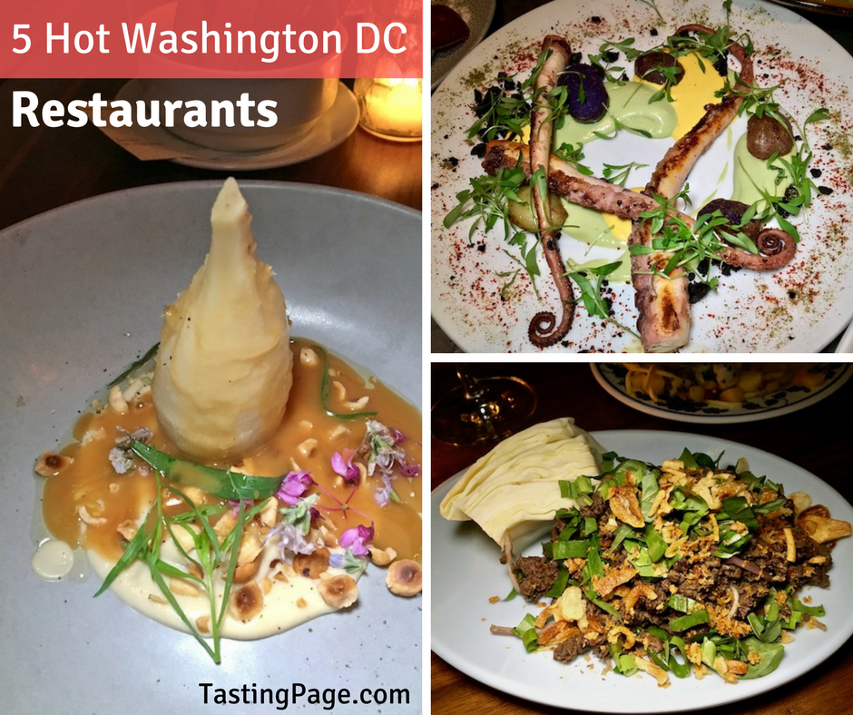 5 Hot Washington DC Restaurants | TastingPage.com
