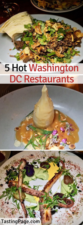5 Hot Washington DC Restaurants — Tasting Page