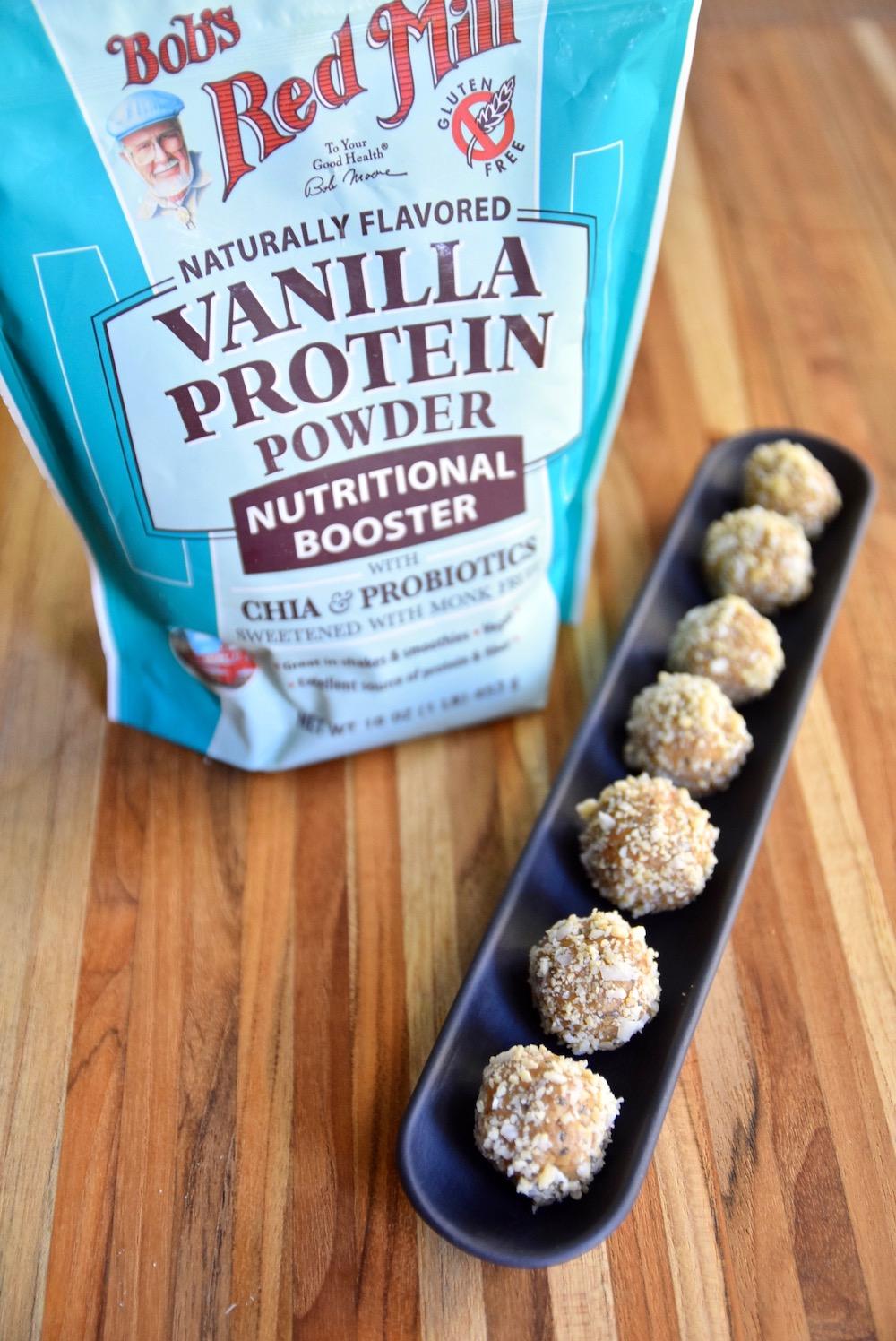 Paleo energy balls - gluten free and vegan | TasitngPage.com