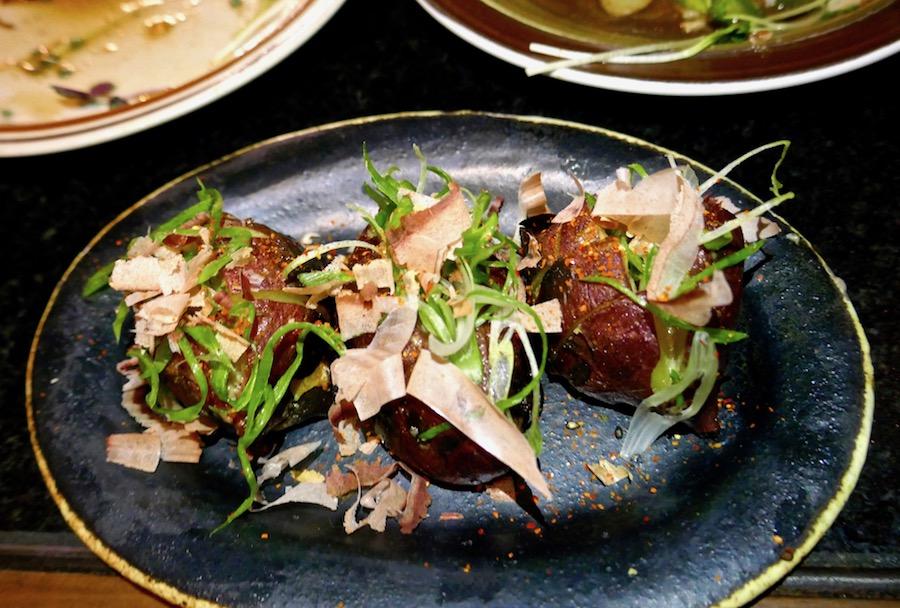 MTN sweet potatoes Abbot Kinney Venice