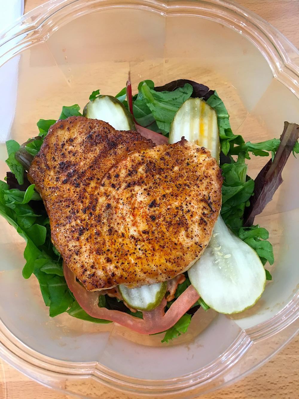 Strfsh swordfish salad