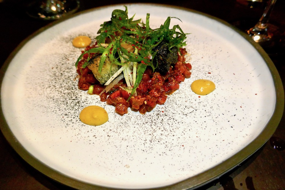 Native Restaurant bison tartare