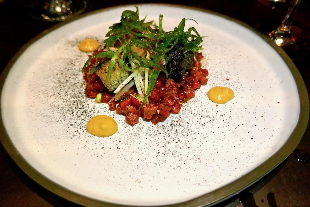 Native Restaurant bison tartare