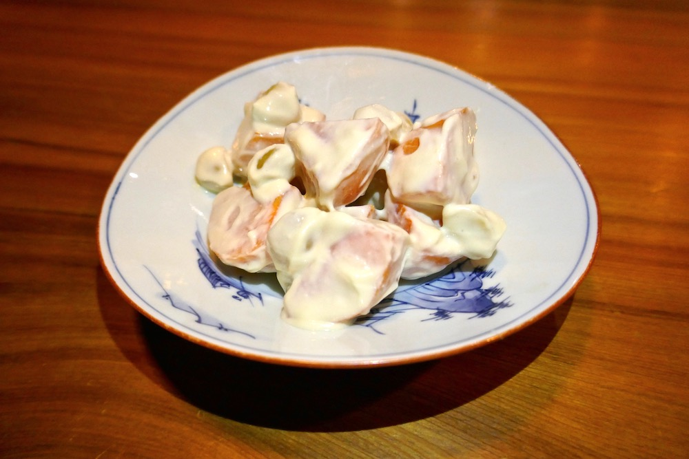 Shibumi persimmon whipped tofu