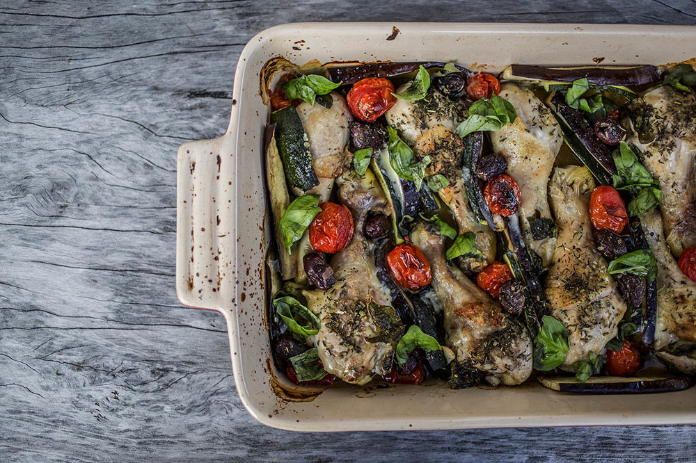 One-Pan-Meditteranean-baked-chicken-with-eggplant-zucchini-tomato-olives-and-basil..jpg.jpg