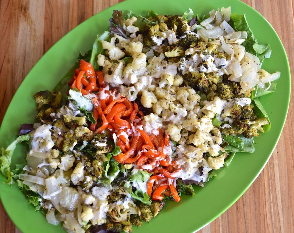 Roasted veg salad with lemon tahini.jpg