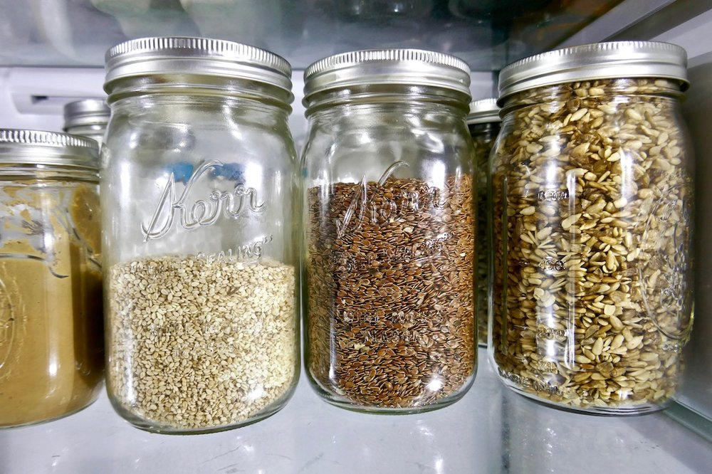Eco friendly glass jars