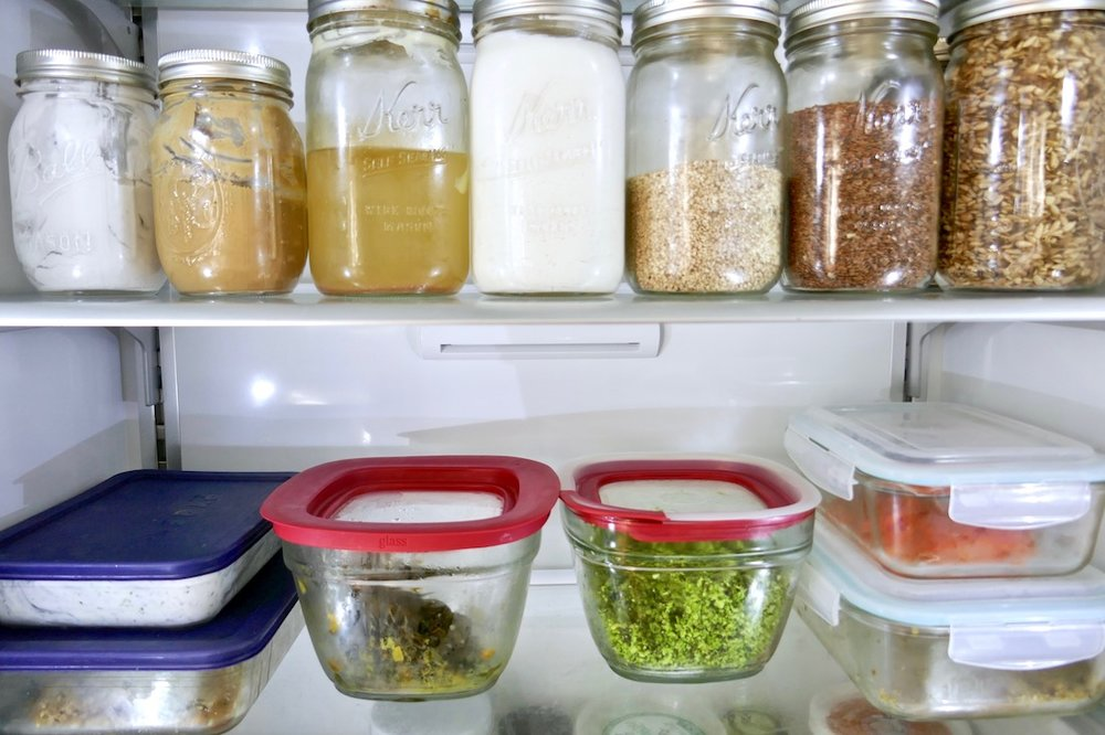How to create an eco friendly kitchen with glass storage