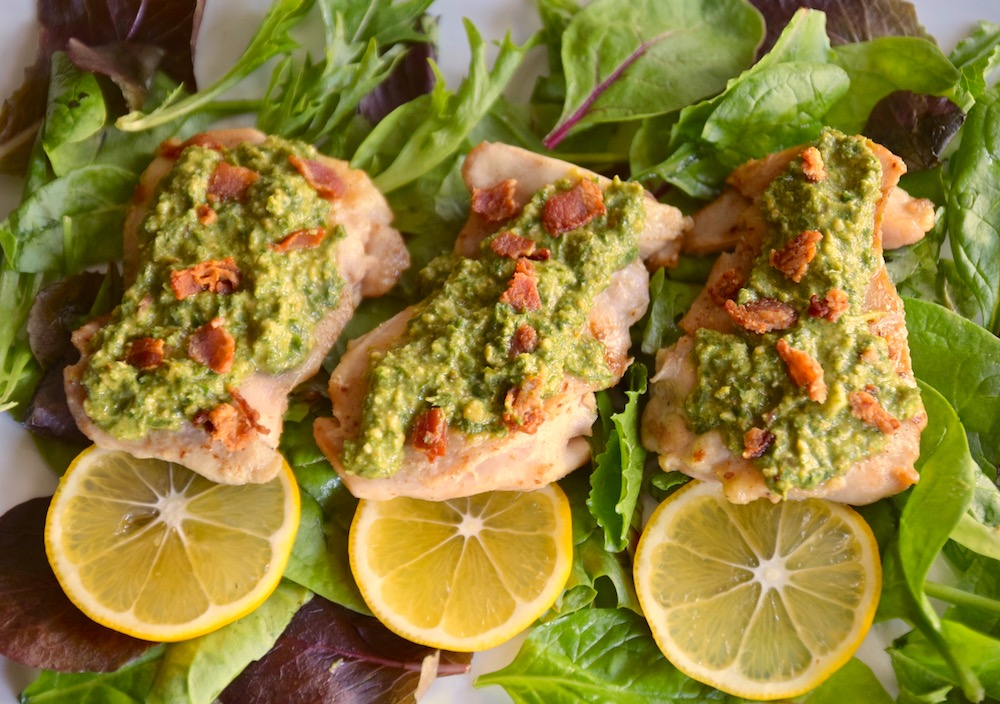 Chicken lemon bacon mint gremalata copy.jpg