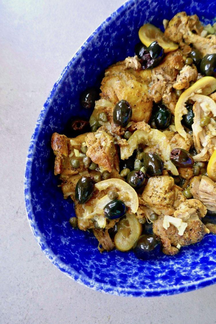 Instant pot chicken thighs olives and lemon.jpg