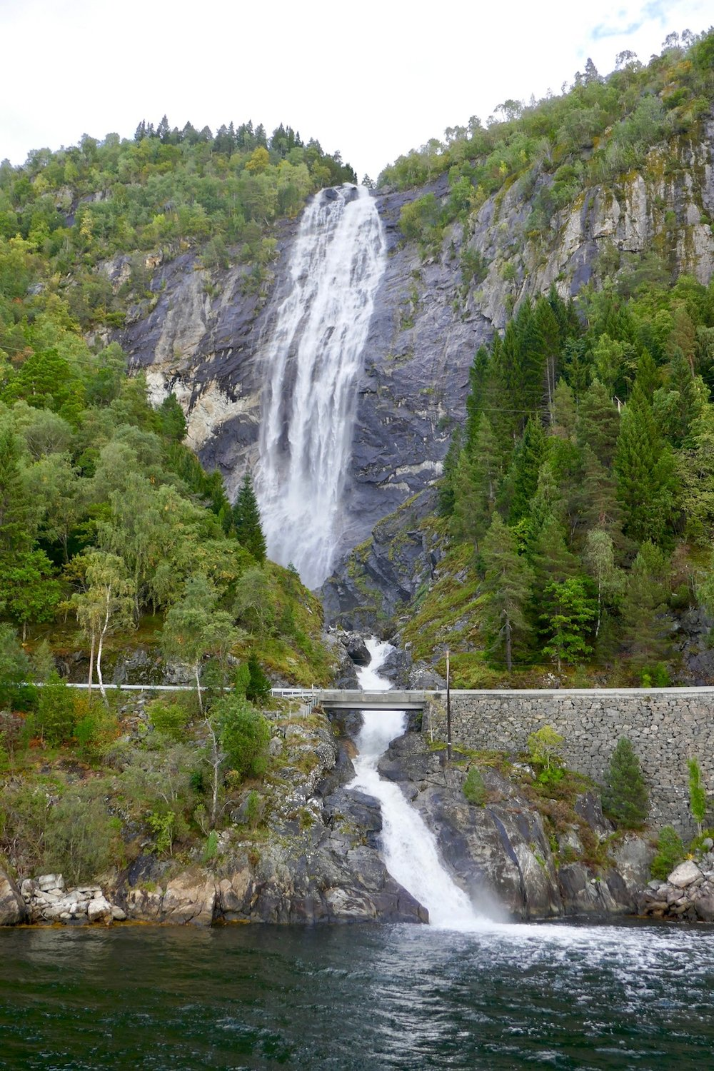 norway waterfalls