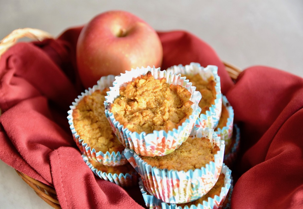 Paleo apple pumpkin muffins a great gluten free healthy holiday food swap