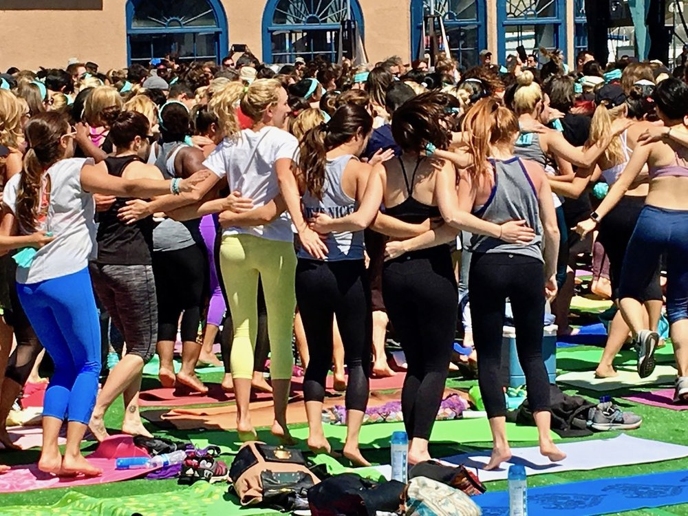 community in yoga