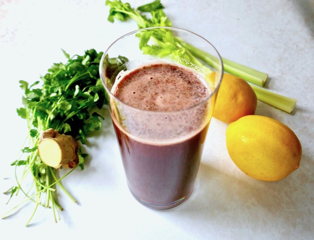 liver cleansing beet juice