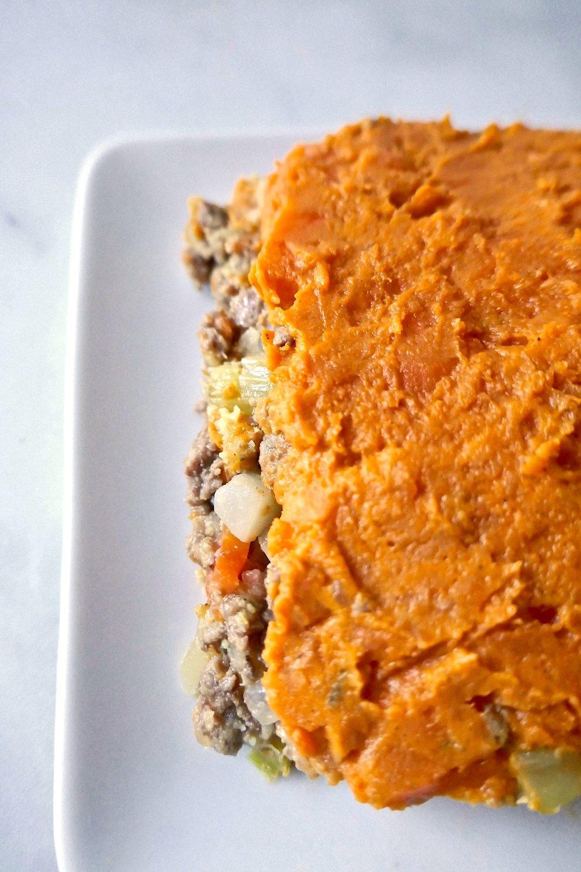 paleo aip sweet potato shepherd's pie